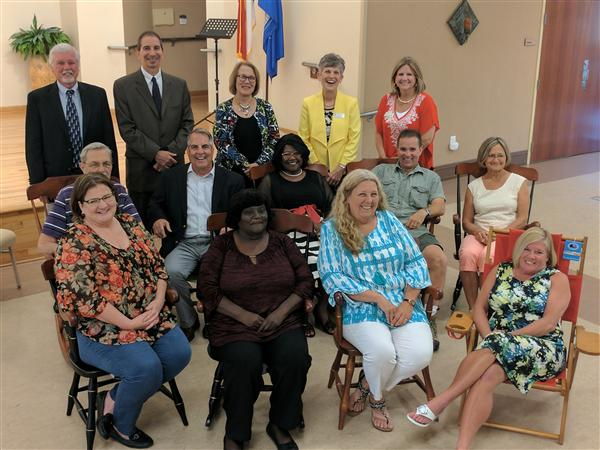 Twelve Retirees Honored