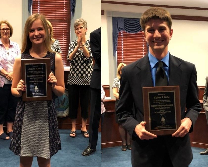 Outgoing Student Board Members Recognized