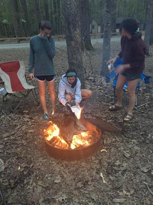 Science Club Camping Trip
