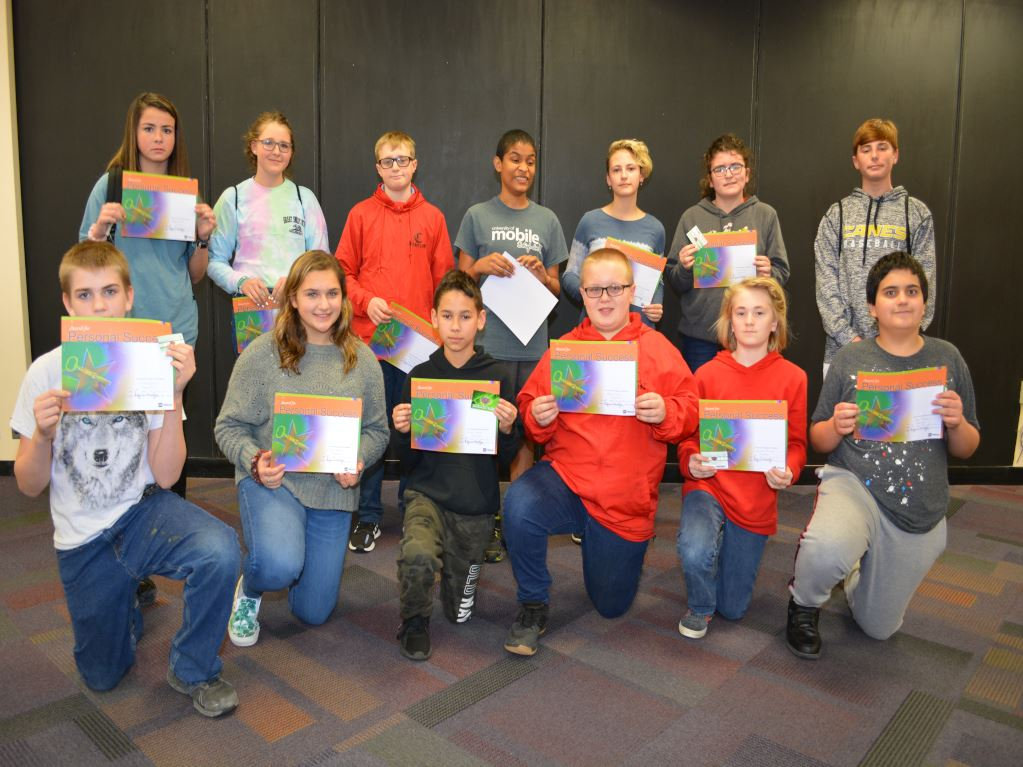 December's Students of the Month