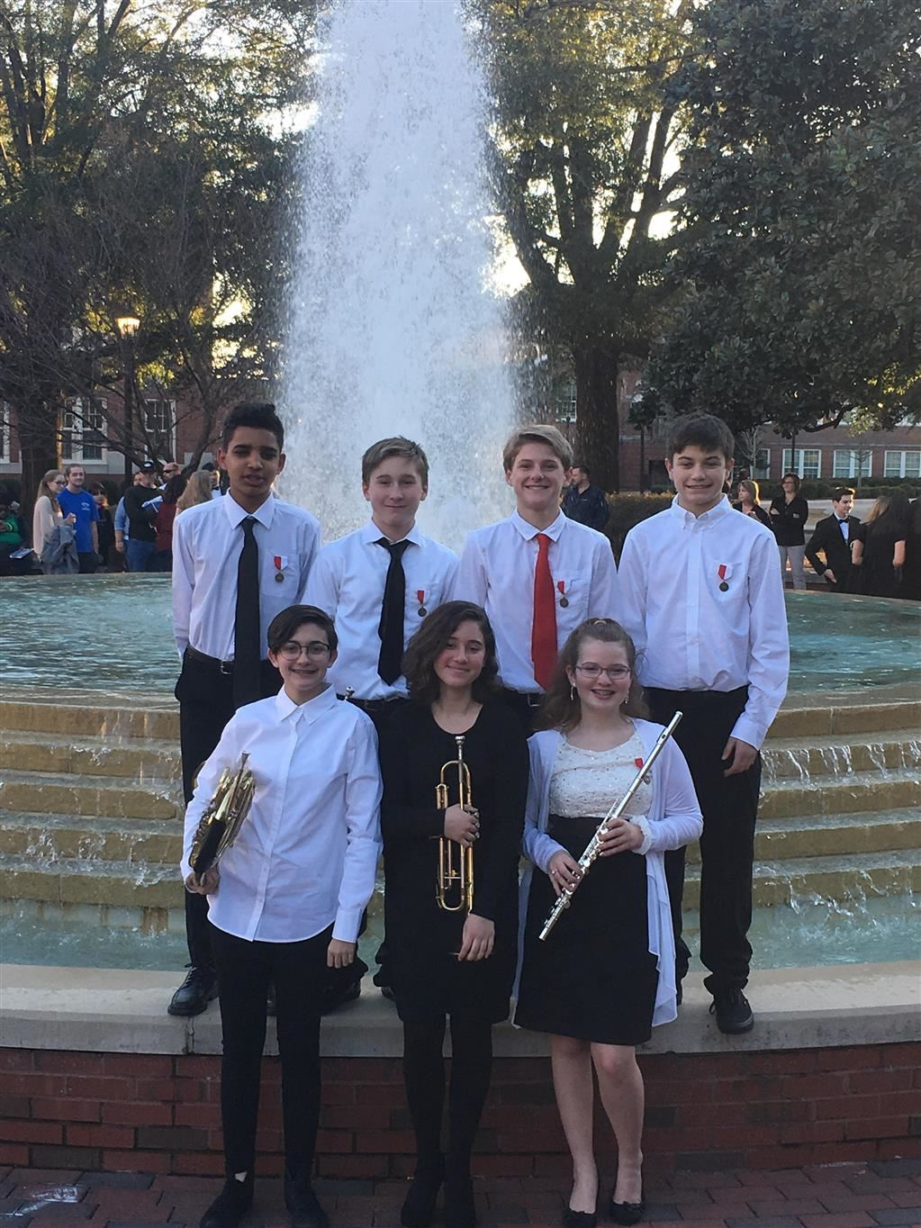 All District Band Participants